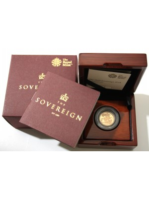 2018 Gold Half Sovereign Proof Royal Mint Privy Mark Coin Boxed with Certificate Brand New