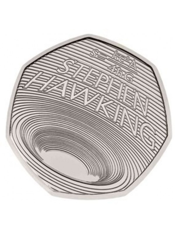 2019 Stephen Hawkings Royal Mint Bu 50p Fifty Pence Coin Pack
